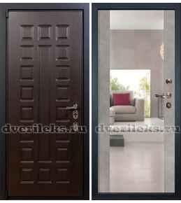 Лекс Неаполь Зеркало бетон серый (Панель 102)