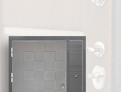 Двери со сменными внешними панелями